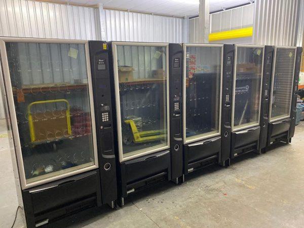 5 Necta Italian Combination Vending Machines