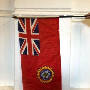 Assortment Of British Military Flags