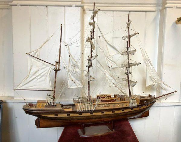 Old Fashioned Sailing Ship, Model