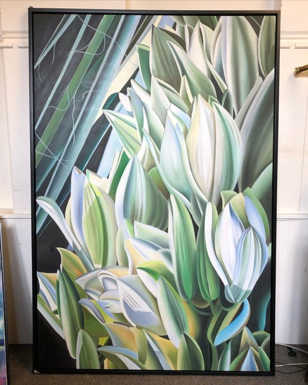 Tulips Oil Painting On Canvas
